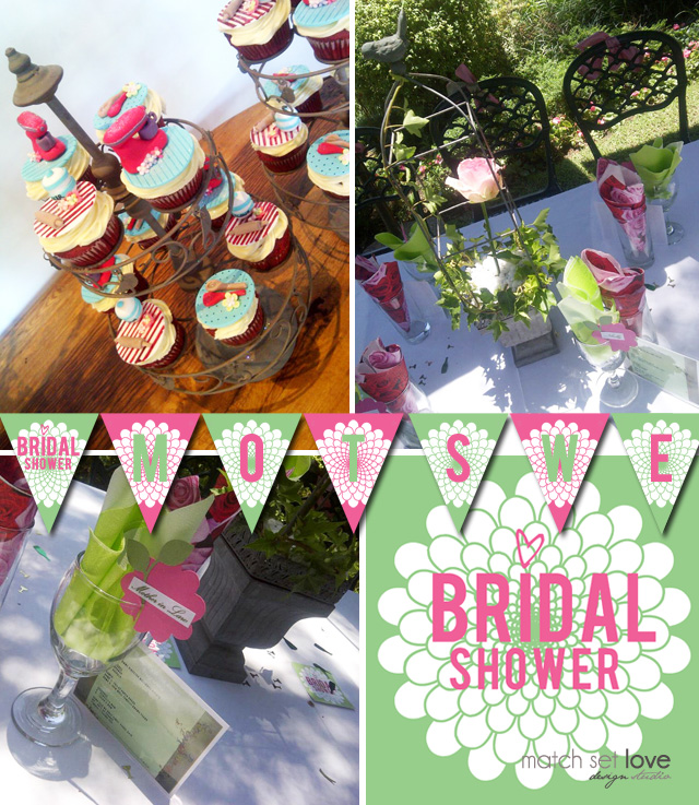 Inspriation: Motswelli's Bridal Shower