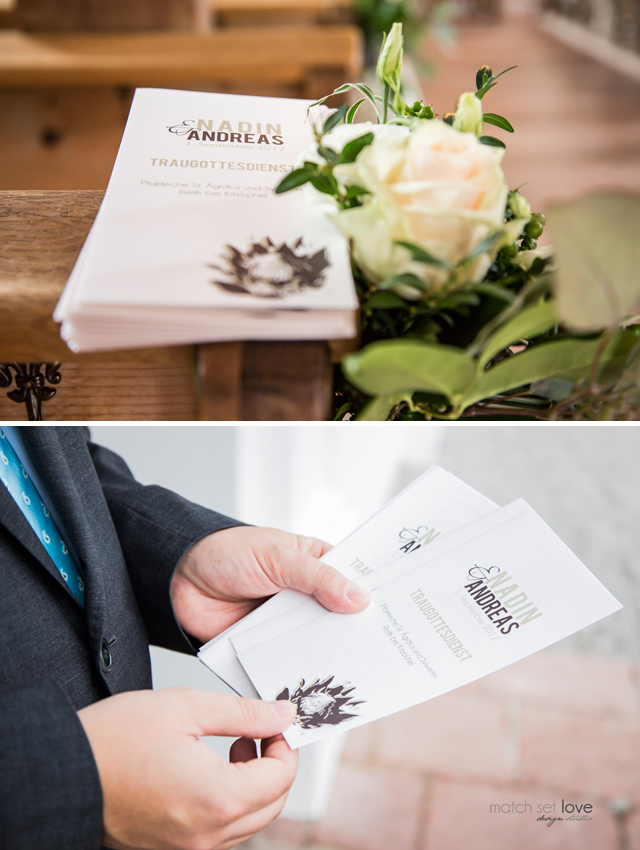 N&A ceremony leaflet